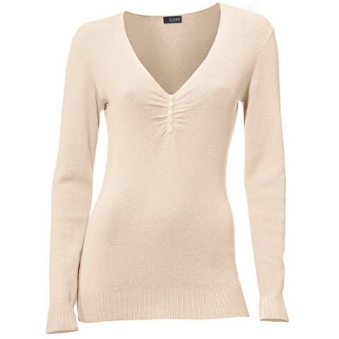 Fijngebreide pullover