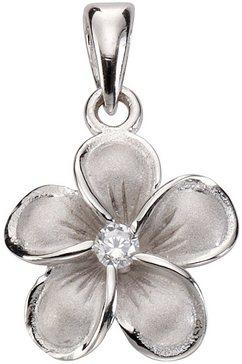 firetti hanger »bloem« met zirkoon zilver