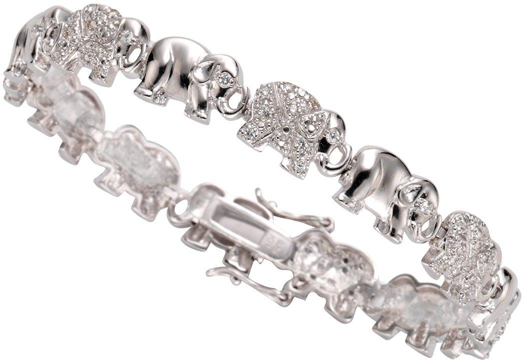 Firetti armband »Olifanten« met zirkoon bestellen: 30 dagen bedenktijd