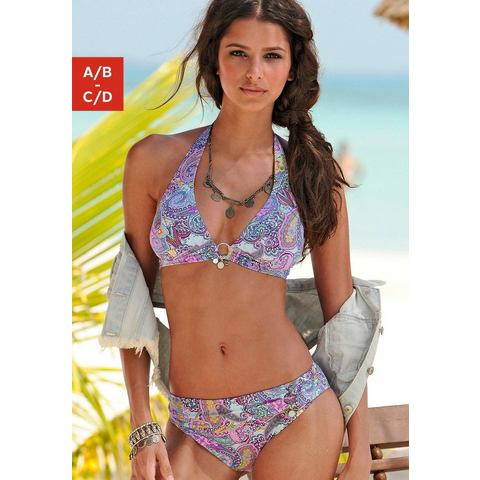 S.OLIVER Triangelbikini in paisleydessin (2-delig)