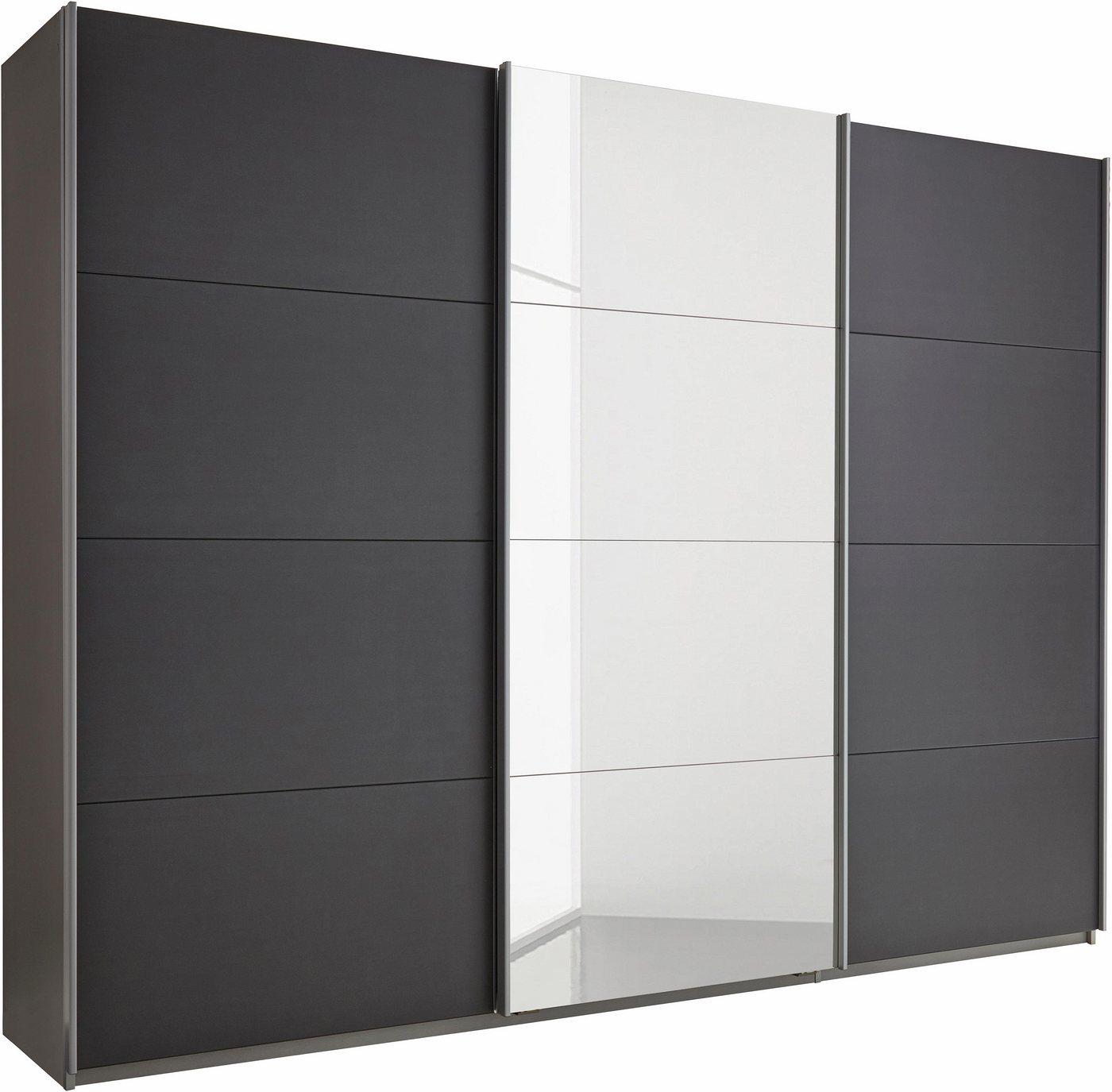 Zweefdeurkast »Dobene«, inclusief lade-inzet en losse planken