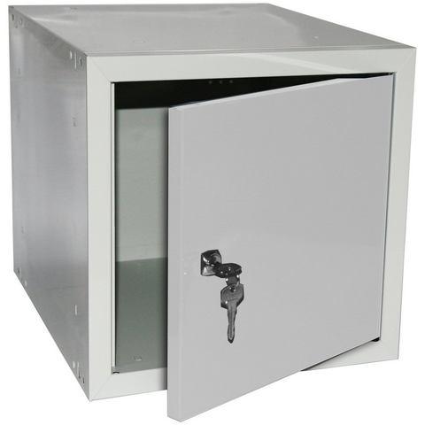 Stalen kast »locker-kluisje, lichtgrijs (RAL7035)«