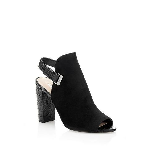 Schoen: GUESS sandaaltjes BAYO suède