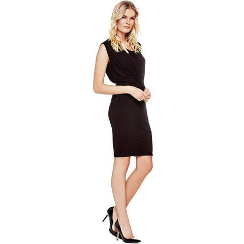 Picture GUESS jurk met knoopdetail zwart 472976