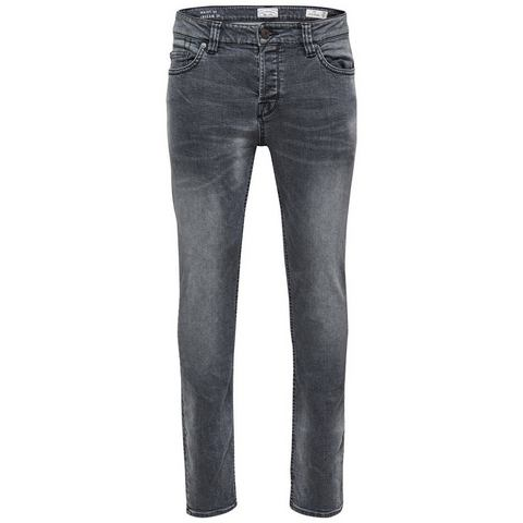 ONLY & SONS Loom zwarte Slim fit jeans
