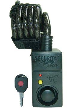 security plus alarm-fietsslot met bewegingsmelder groen