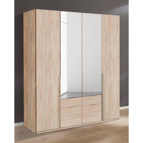 Kledingkasten Wimex garderobekast met spiegeldeuren en laden New York 349018