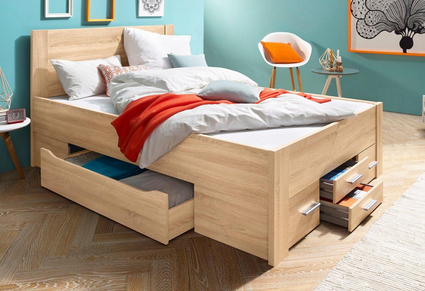 RAUCH Bed met bergruimte incl. laden