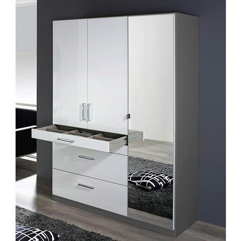 Kledingkasten RAUCH garderobekast met spiegel 404313