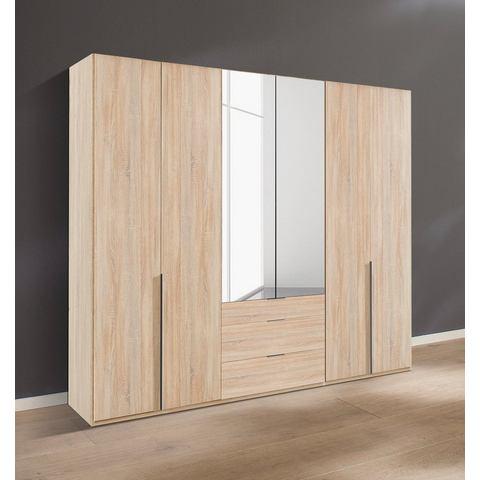Kledingkasten Wimex garderobekast met spiegeldeuren en laden New York 581462
