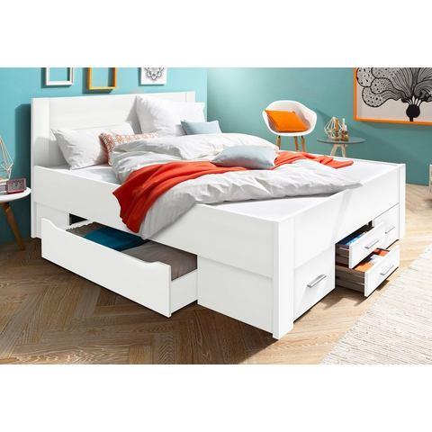 RAUCH Bed met bergruimte incl. laden wit Rauch 712982