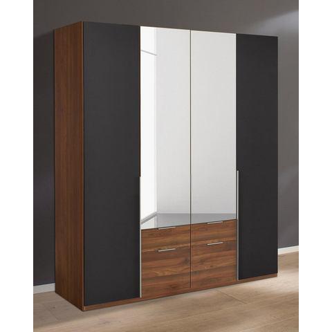Kledingkasten Wimex garderobekast met spiegeldeuren en laden New York 814809