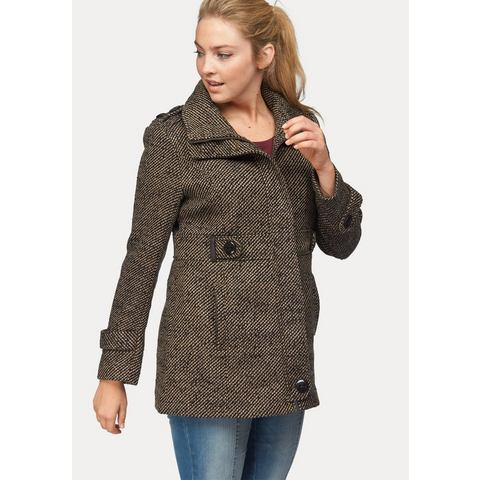 BOYSEN'S Coat in tweed-look