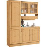 home affaire keukenset sylt zonder elektrische apparaten, breedte 150 cm beige