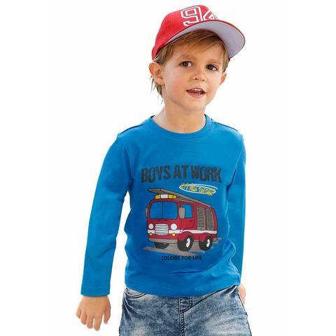 CFL Shirt met lange mouwen en brandweerautomotief