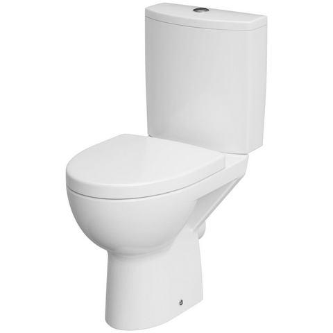 CORNAT complete set: Staand toilet Montego zonder spoelrand