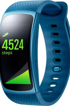 Gear Fit 2 maten: L smartwatch, Tizen, 3,86 cm (1,5 inch) AMOLED-touch-display