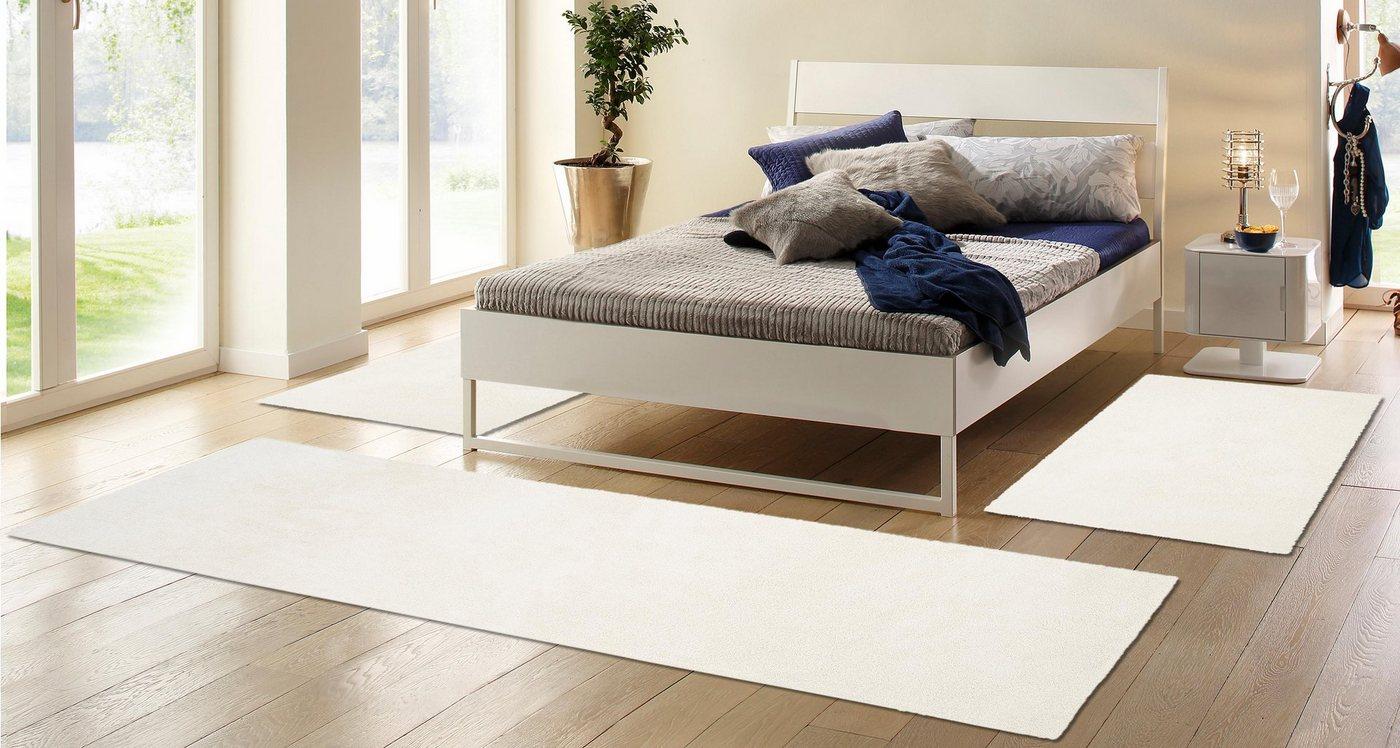 Hoogpolige slaapkamerset 3-dlg., MY HOME, Irma, hoogte 32 mm, geweven
