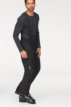 polarino skibroek inclusief bretels zwart
