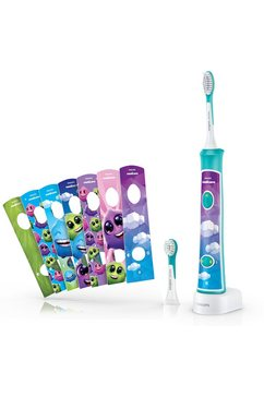 philips sonicare for kids connected tandenborstel hx6322-04 blauw