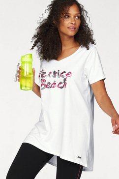 venice beach lang shirt grote maten wit