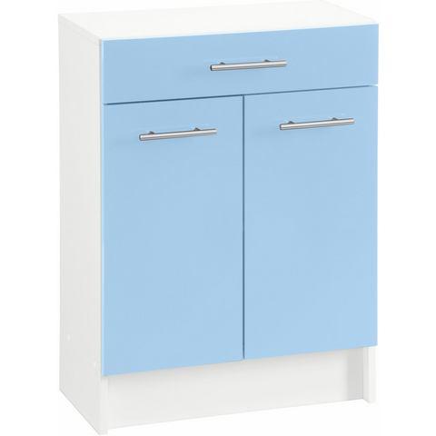 SCHILDMEYER Onderkast Sellin breedte 60 cm blauwe badkamer onderkast 34