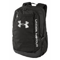 under armour sportrugzak »hustle backpack ldwr« zwart