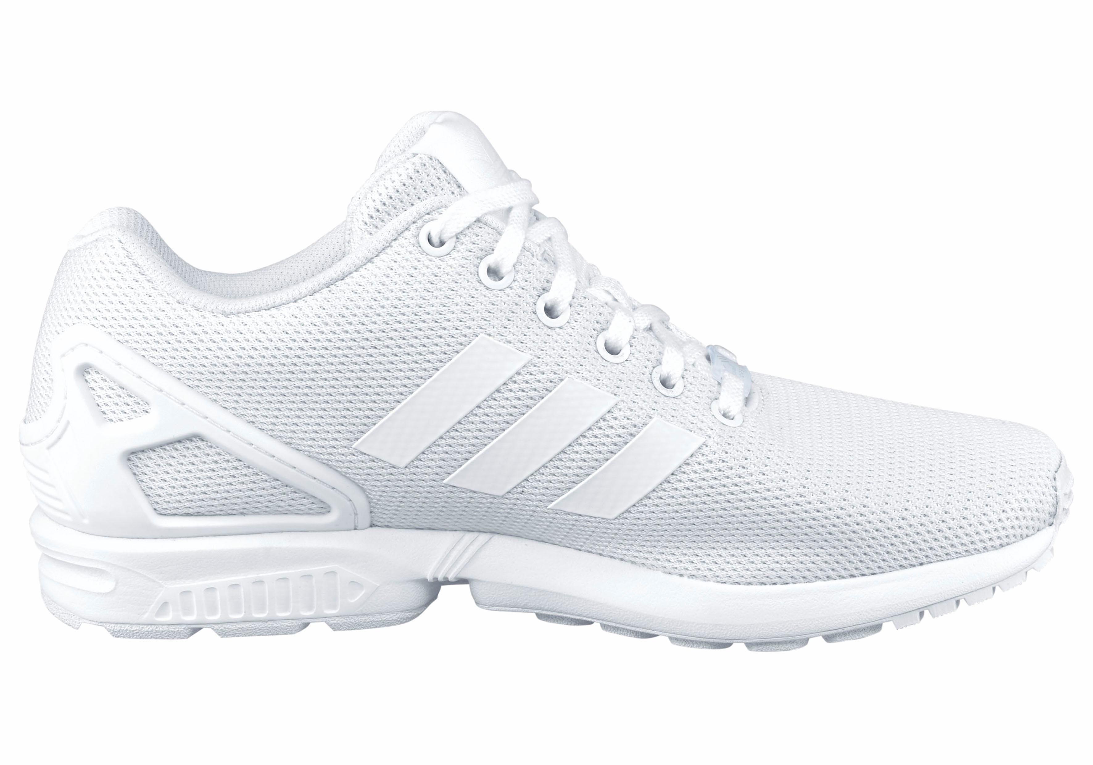 adidas zx flux wit schoonmaken