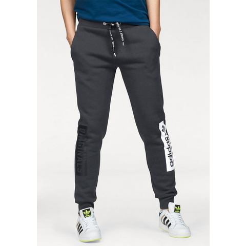Adidas Regular Cuffed Sweatpants Shadow Black