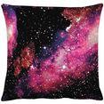 apelt kussenovertrekken galaxy (1 stuk) roze