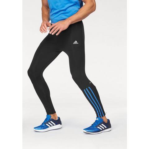 adidas Men's Response Long Running Tights Black-Blue M
