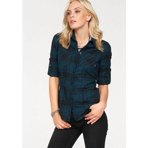 ARIZONA flanellen blouse