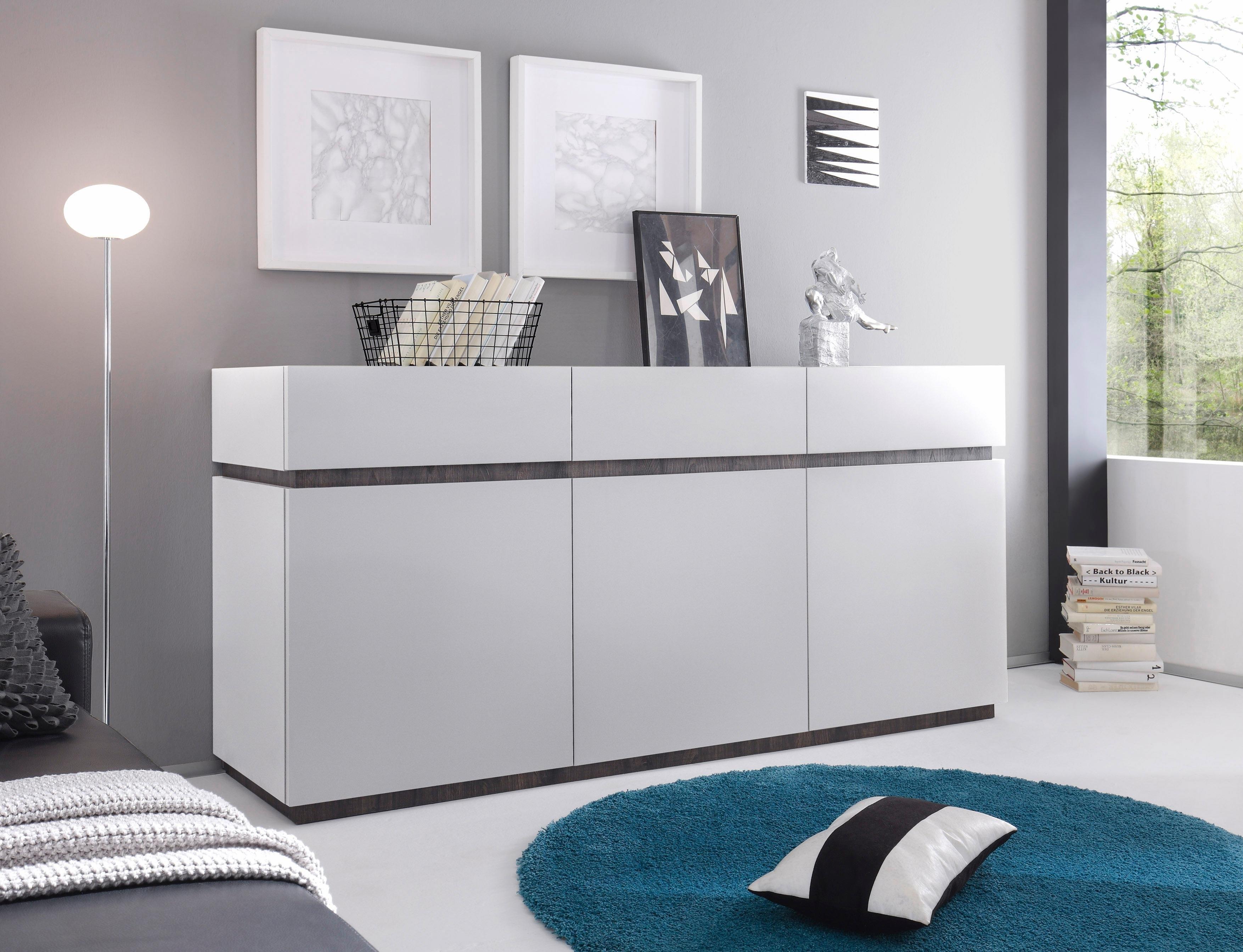 Places of Style Dressoir »Zela«, 3-deurs, breedte 184 cm - verschillende betaalmethodes