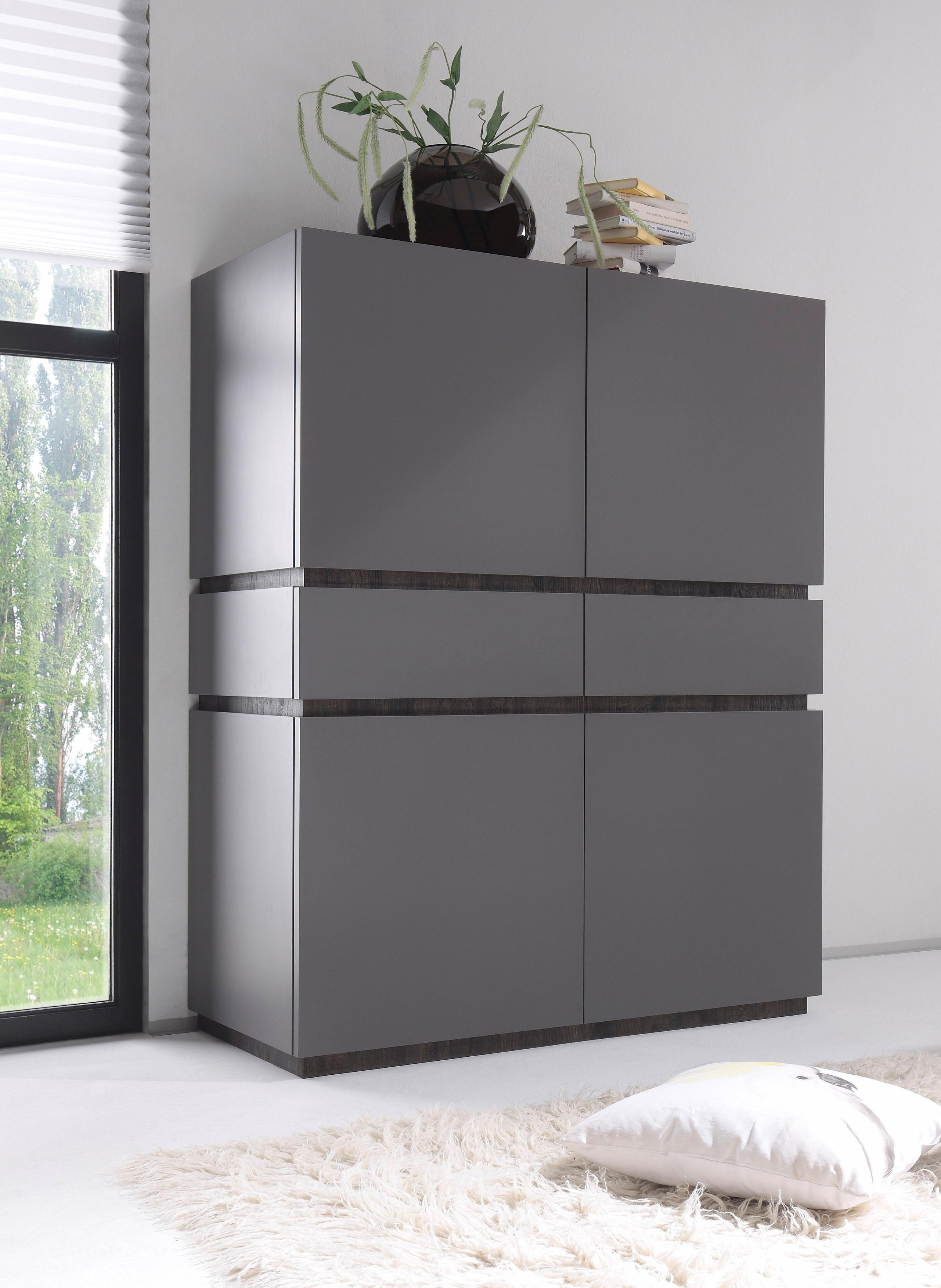 Op zoek naar een Places Of Style Highboard »Zela«, 4-deurs, breedte 123 cm? Koop online bij OTTO