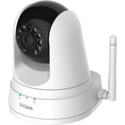 d-link ip-camera »dcs-5000l-e wireless n tagnacht pantilt camera« wit