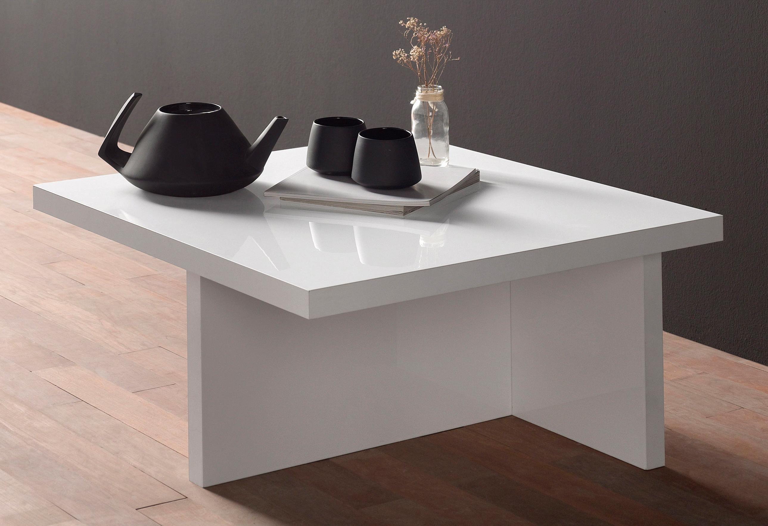 Salontafel wit hoogglans stunning vierkante salontafel for Ladeblok wieltjes