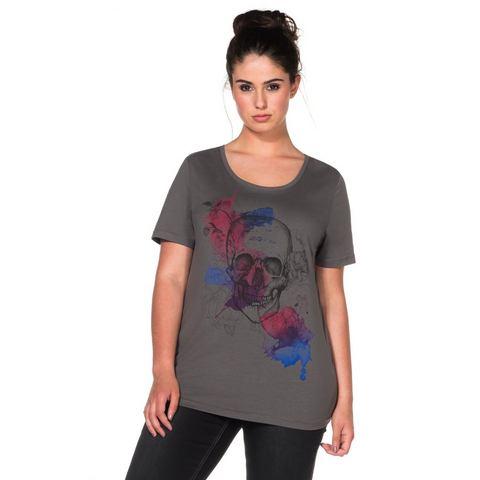 SHEEGO TREND T-shirt met frontprint