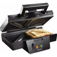 krups sandwichmaker fdk451 bakplaten met antiaanbaklaag zwart