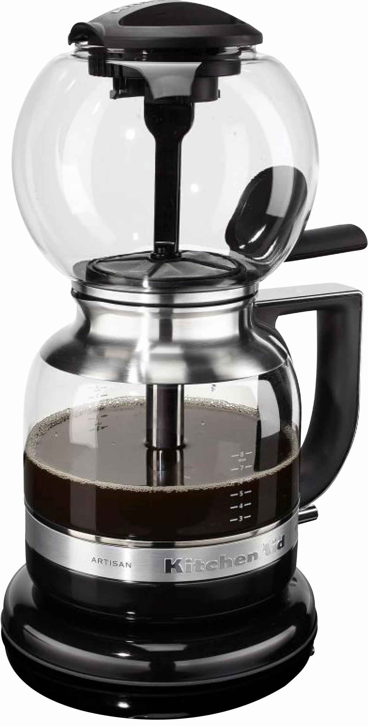 KitchenAid ® Artisan sifon-koffiezetapparaat 5KCM0812, onyx zwart veilig op otto.nl kopen