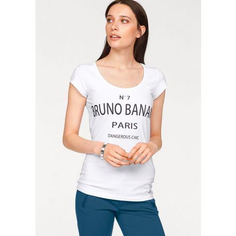BRUNO BANANI T-shirt met frontprint
