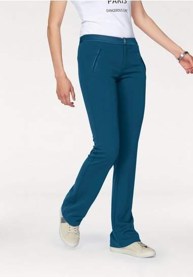 BRUNO BANANI Bootcut-broek in elastische kwaliteit