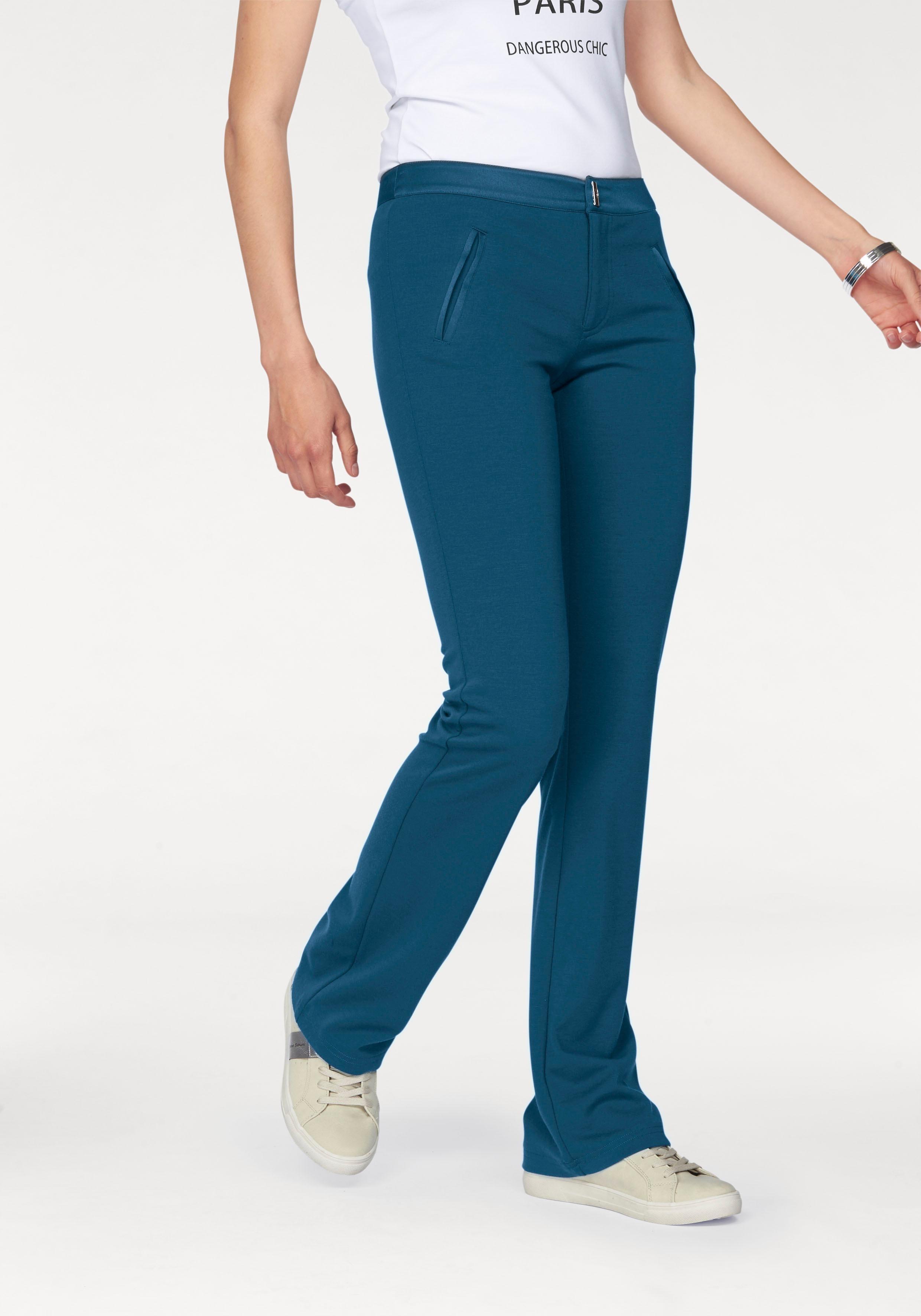 Bruno Banani Bootcut-broek in elastische kwaliteit nu online kopen bij OTTO