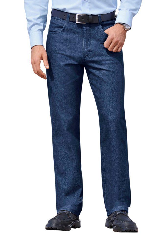 Jeans met elastische comfortband