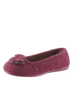 gabor pantoffels in ballerinamodel rood