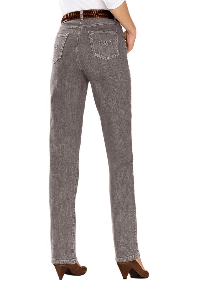 Casual Looks jeans met stevige band en riemlussen bij OTTO online kopen