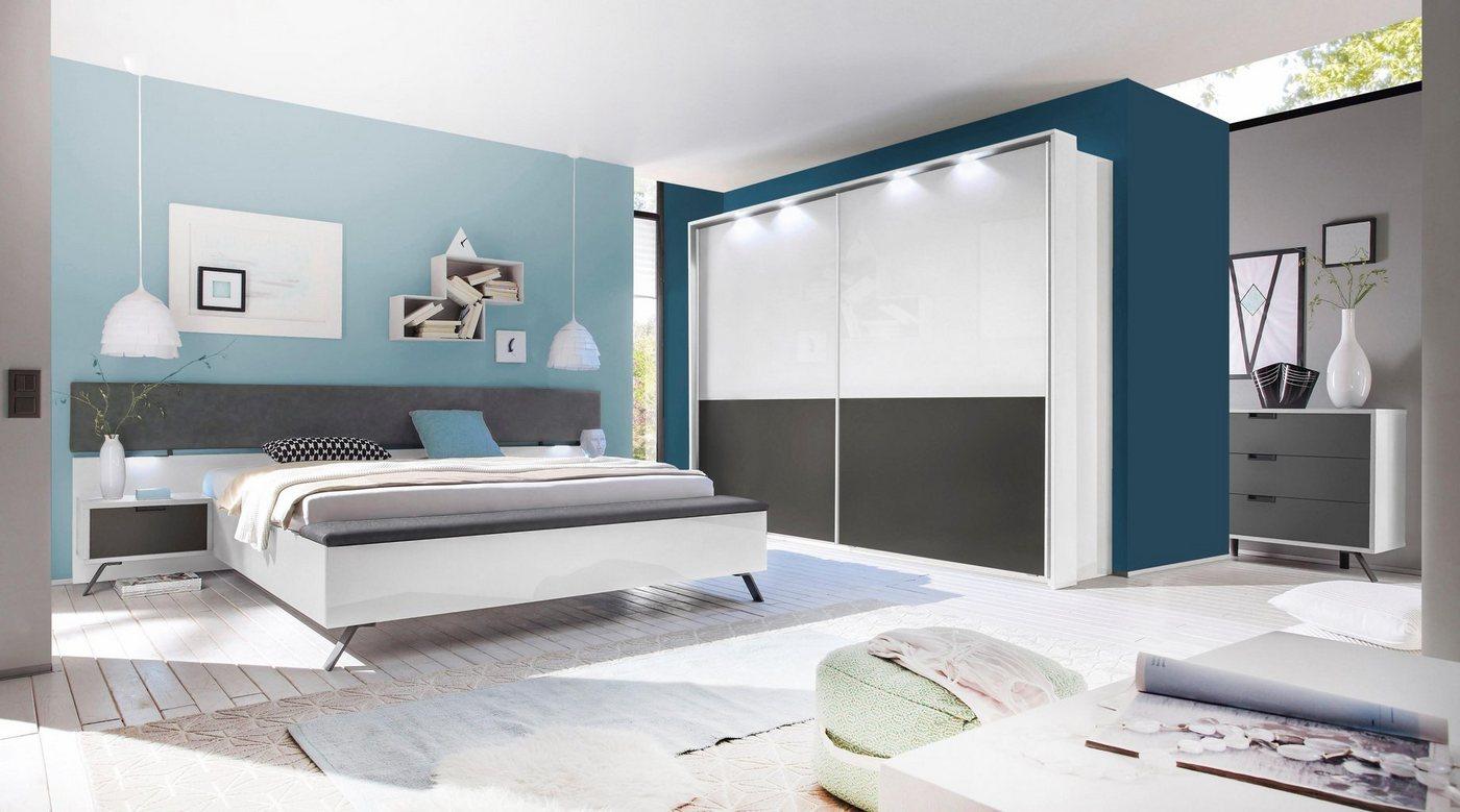 LC slaapkamermeubelen in 4-delige set