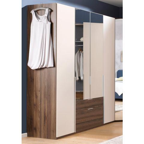Kledingkasten Wimex garderobekast met spiegeldeuren en laden New York 346491