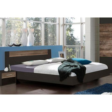 Bed 160 cm breed grijs Wimex 708302