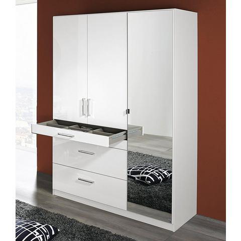 Kledingkasten RAUCH garderobekast met spiegel 819070