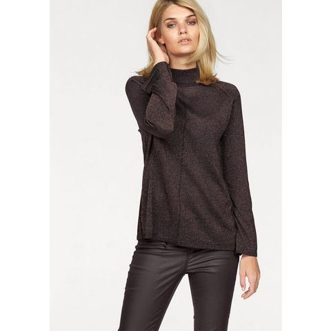 NU 20% KORTING: LAURA SCOTT trui met staande kraag